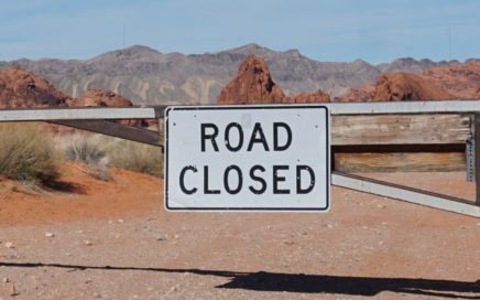 Bottleneck Road Closed