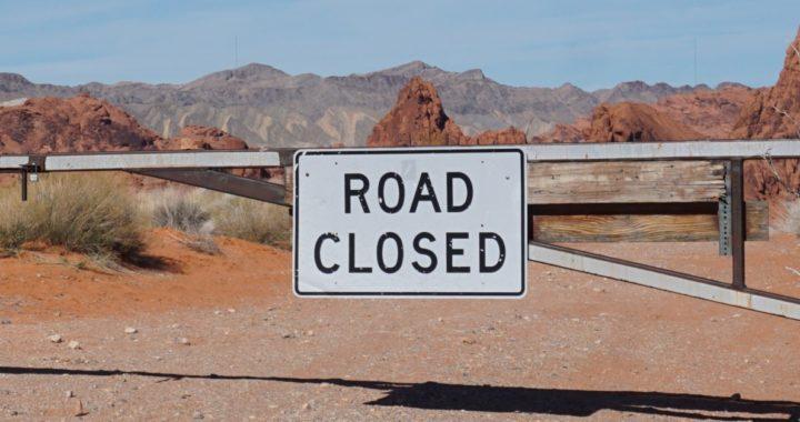Bottleneck Road Closed