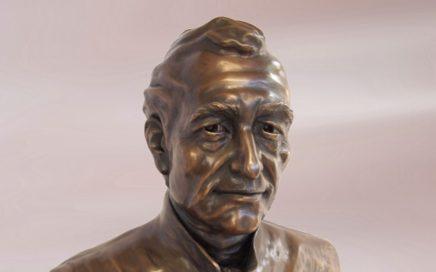 Edmund Rice bust by Kris-Ann Ehrich