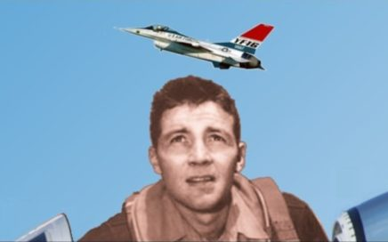 John Boyd in F-86 Fighter Korean War