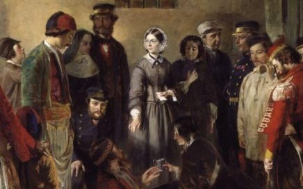 Florence Nightingale Receiving the Wounded at Scutari