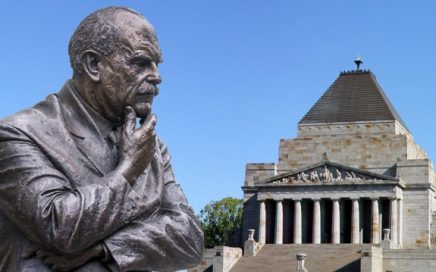 Sir John Monash and the Shrine of Remembrance