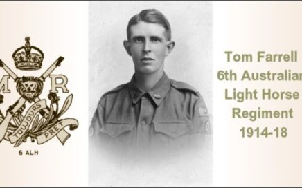 Shell Shock - Tom Farrell 6th Australian Light Horse Regiment